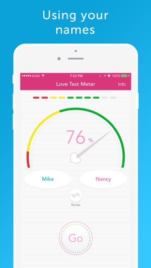 Love Test Meter - Relationship Compatibility Screenshot