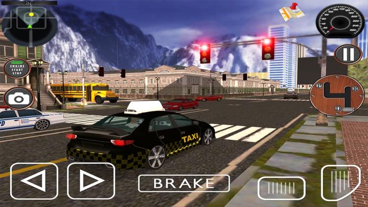 City Taxi driving Sim-ulator 2017 Pro: 3D