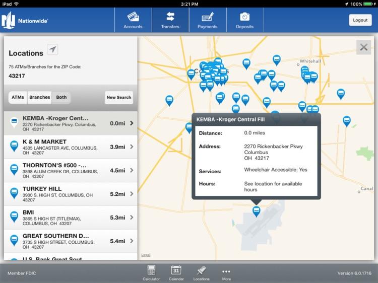Nationwide Bank for iPad screenshot-4