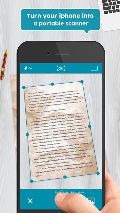 Easy Scanner Pro: PDF scanner app to scan document screenshot one