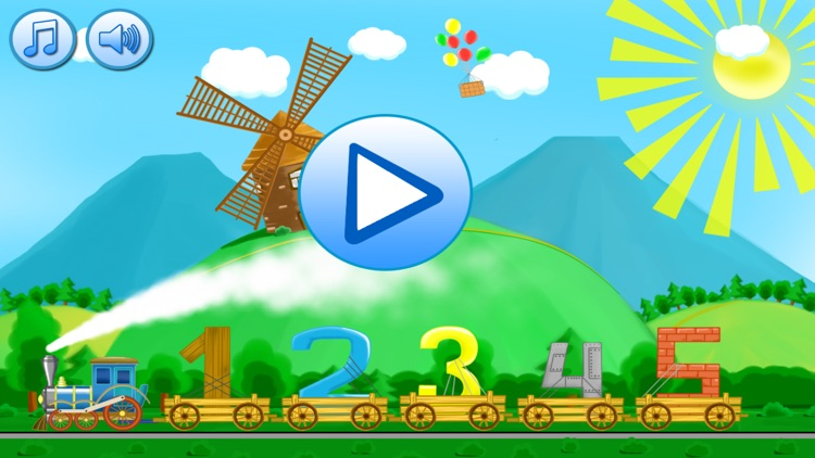 Learning numbers - educational games for toddlers