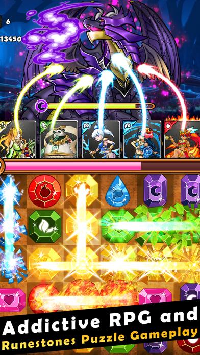 Dragons Kingdom War: Puzzle & Card RPG Game-0