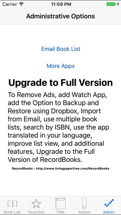 RecordBooks Lite screenshot-4