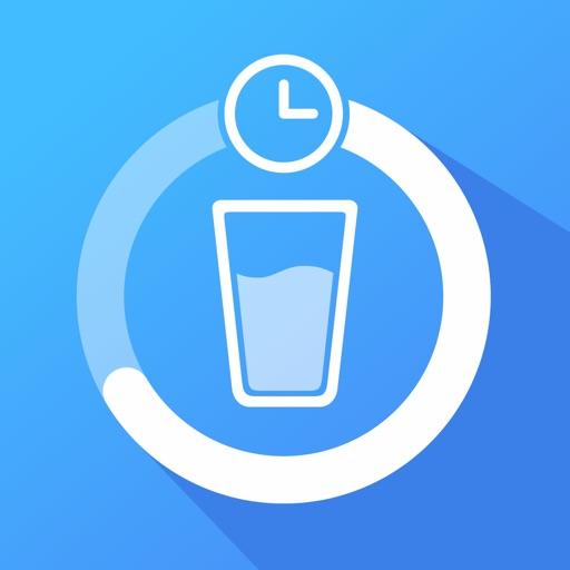 Водный баланс: трекер воды похудение вода app logo