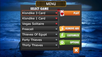 Full Deck Pro Solitaire screenshot1
