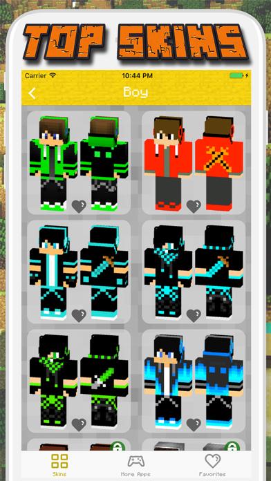 Boy & Girl Skins for Minecraft PE - Pocket Edition screenshot two