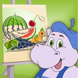 Terry - Coloring fruits and vegetables