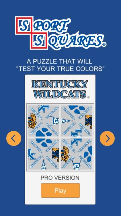 Kentucky Wildcats Sport Squares screenshot-3
