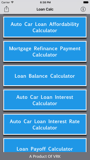 all loan calc on the app store