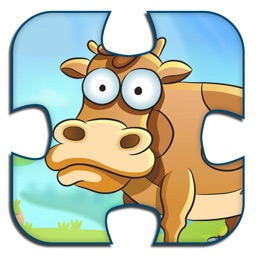 Animal Jigsaw Puzzles Kids Game