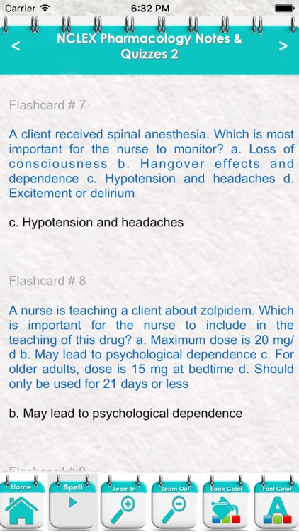 Pharmacology NCLEX Questions 4600 Exam Quiz screenshot-3