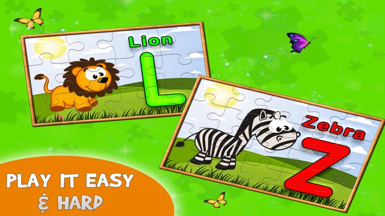 Learning ABC Puzzle for Kids screenshot-3