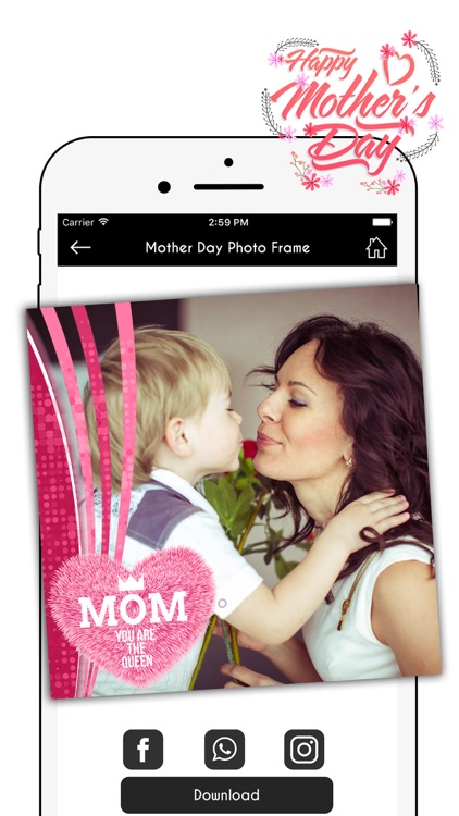 Happy Mother's Day Photo Frames Pro screenshot-4