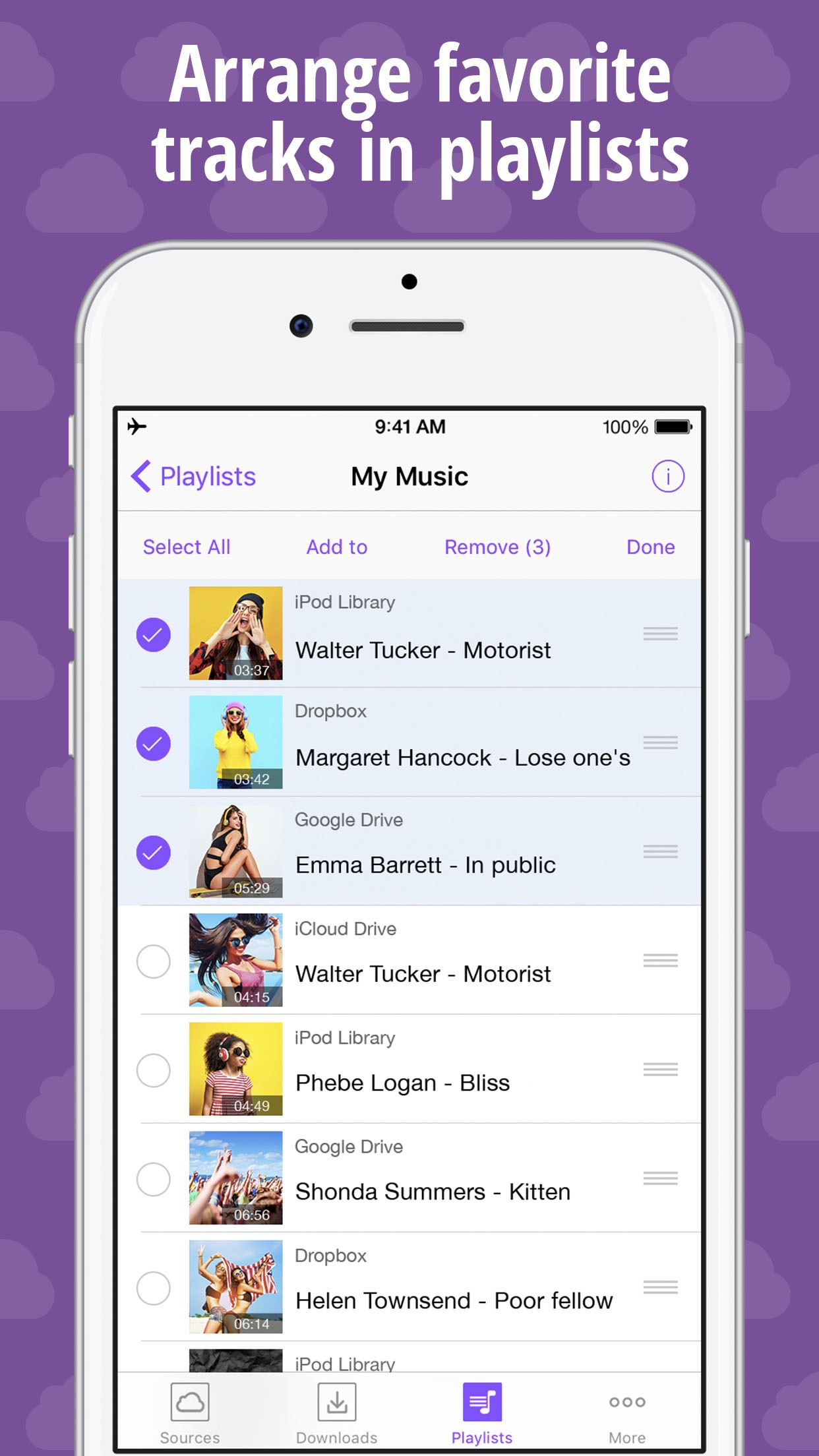 MUSIC.WITH.ME – Offline Player & Cloud Streamer Screenshot