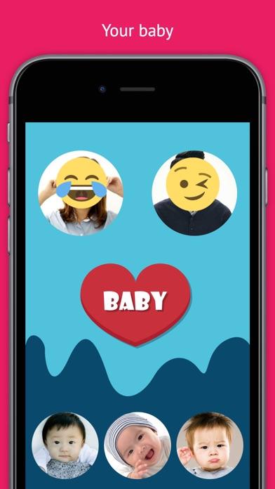아기 얼굴을 추측 - 당신의 미래의 아기를 확인 for Windows