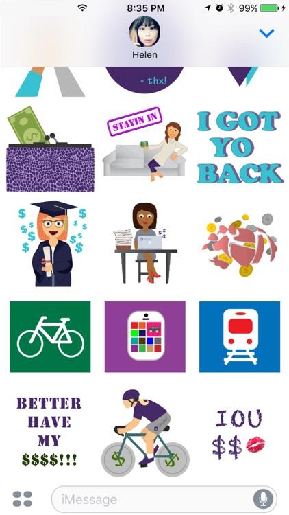 SKYmojis - Skylet Stickers screenshot-3