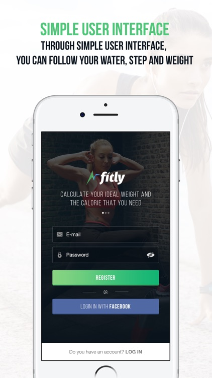 Fitly Nutrition and Exercise app image