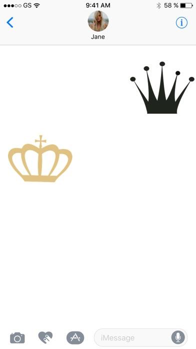 Crown Sticker Pack!Screenshot von 3