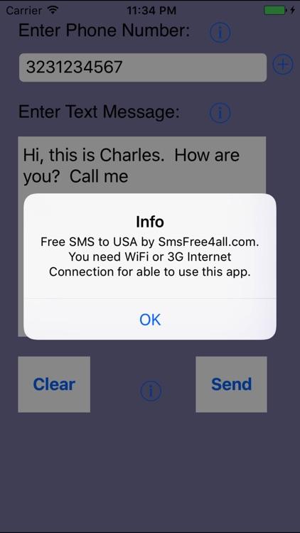 Send Unlimited SMS USA screenshot-4