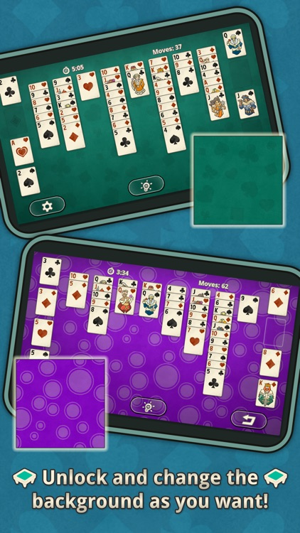 FreeCell Solitaire: Classic Card Game screenshot-3