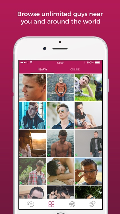 Lollipop - Gay Video Chat Dating & Social Network