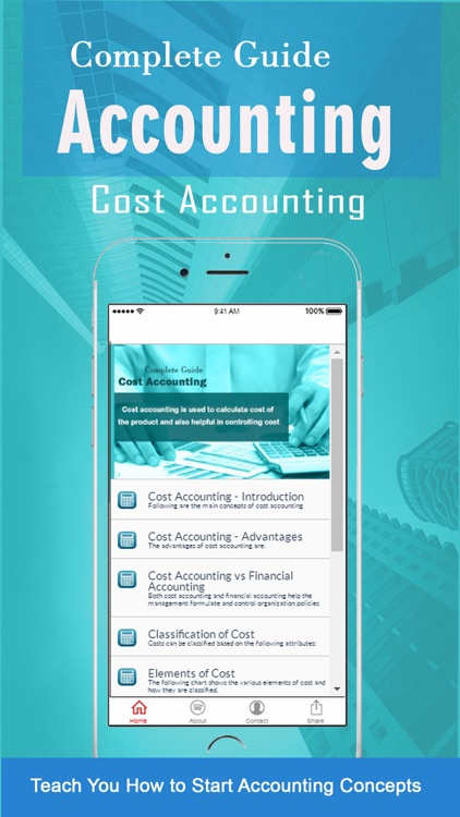 Learn of Managerial Accounting Financial Concepts screenshot-3