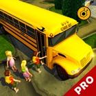 School bus driving simulator 3D pro icon