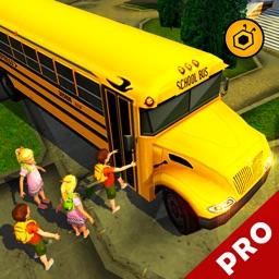 School bus driving simulator 3D pro