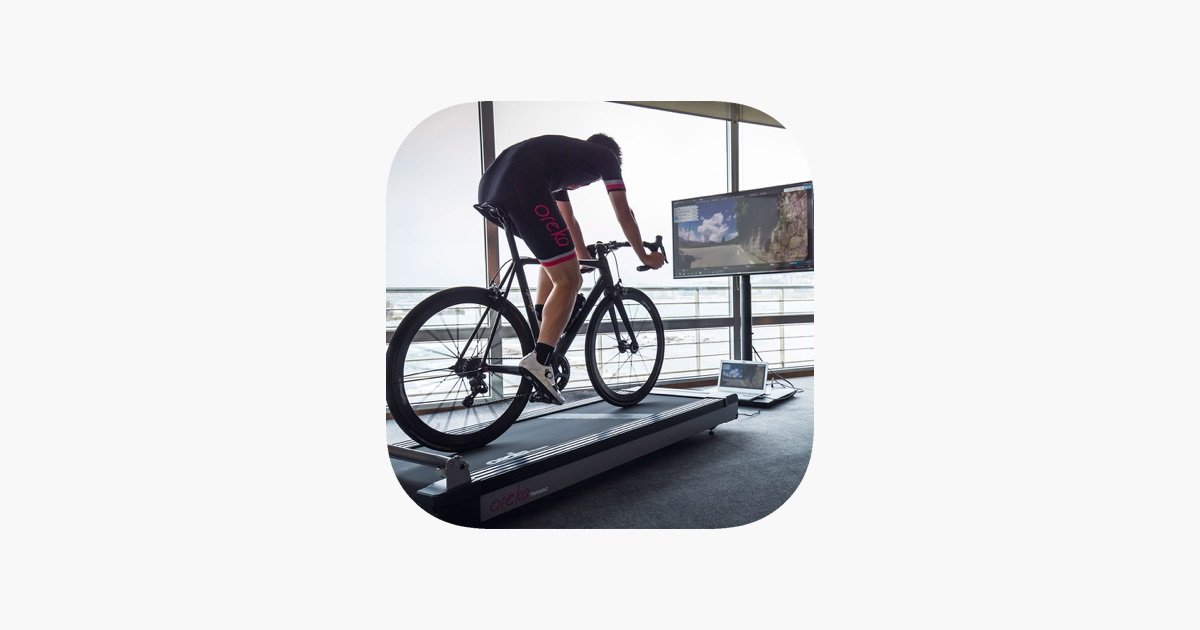Virtual Cycle Rides on the App