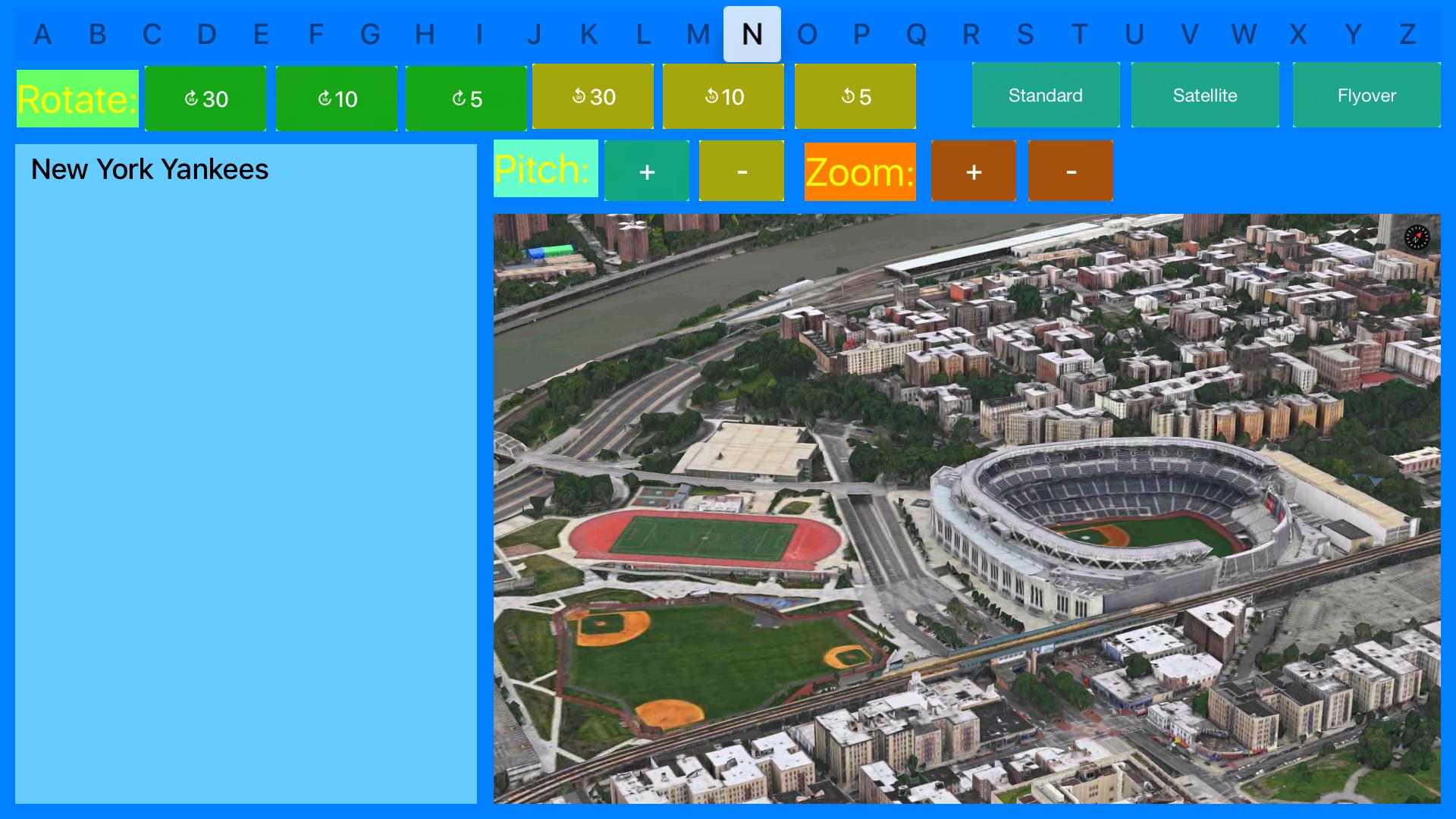 3D Sports Stadiums Lite screenshot 22