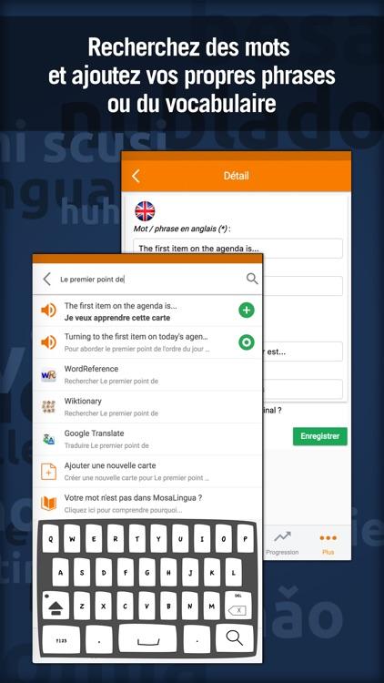 Learn Business English with MosaLingua screenshot-4