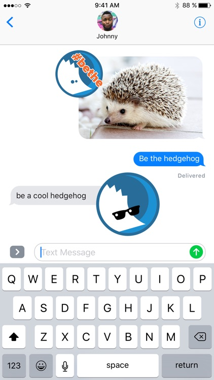 hedgehog Stickers screenshot-4