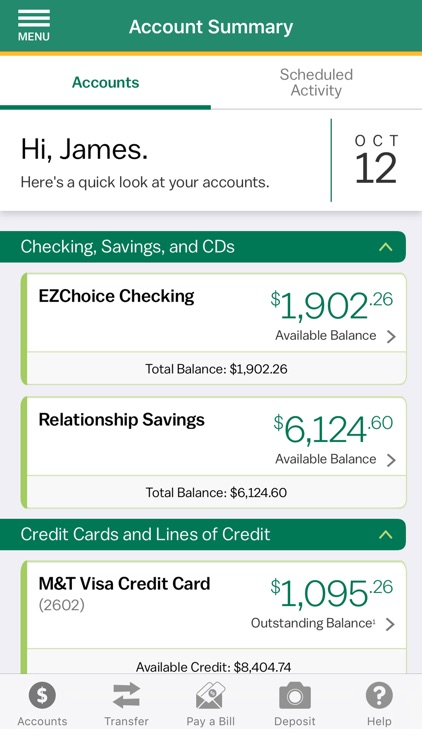 M&T Mobile Banking screenshot-1