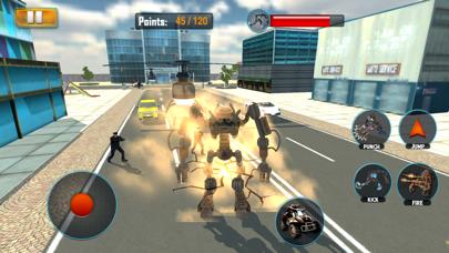 Robot Car Hero Sim 3D