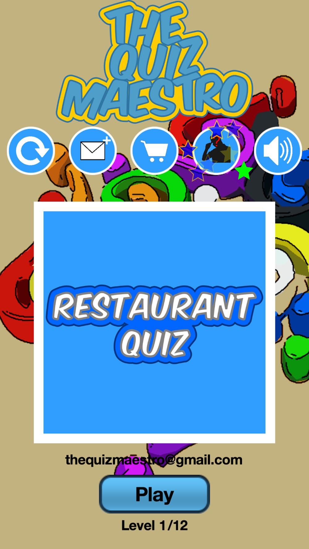 Top Restaurant & Diner Food Story Quiz Maestro