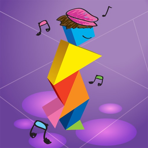 Kids Learning Puzzles: Dance, Tangram Playground iOS App