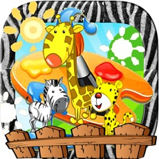 Activities of Zoo Animal Paint : coloring pages for girls & boys