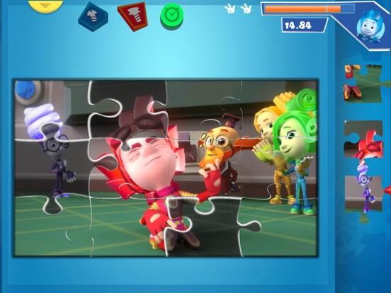 Пазлы Фиксики Развивающие игры для iPad