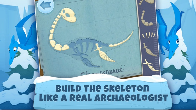 Archaeologist Dinosaur - Ice Age - Games for Kids screenshot-3