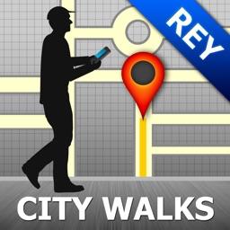 Reykjavik Map and Walks, Full Version