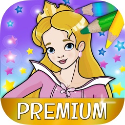 Fairy princess coloring book for kids – Pro