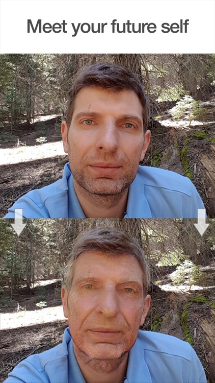 FaceApp: Neural Face Transformations app image