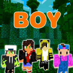 Boy Skins for Minecraft PE Edition