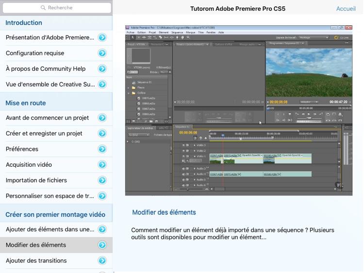Tutorom Adobe Premiere Pro CS5 screenshot-3