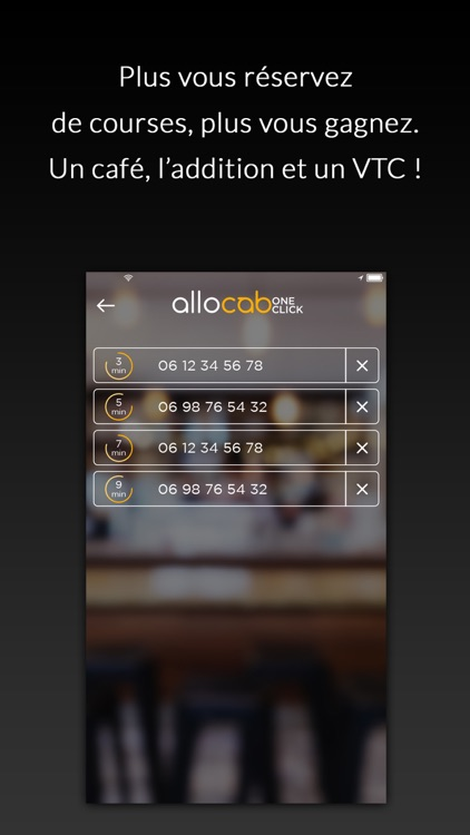 allocab One Click pour les professionnels des CHR
