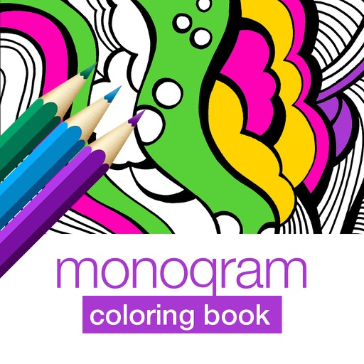 Monogram Interactive Touch Coloring Book