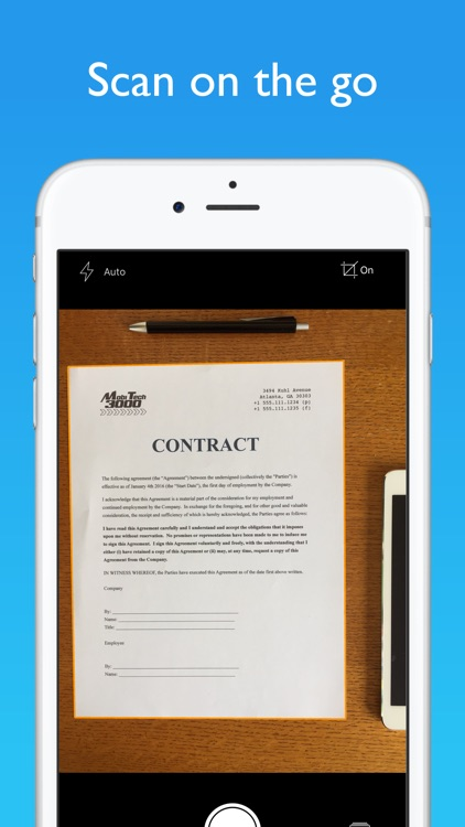 JotNot Pro - PDF Document Scanner App screenshot-0