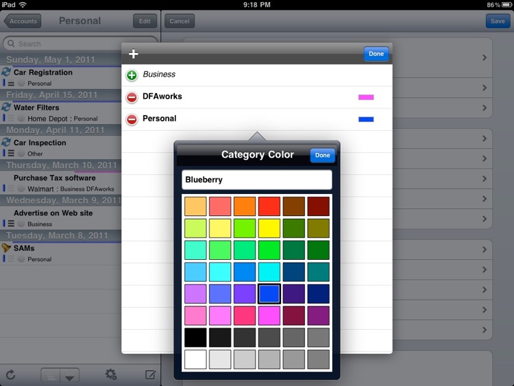 eTask for iPad screenshot-4