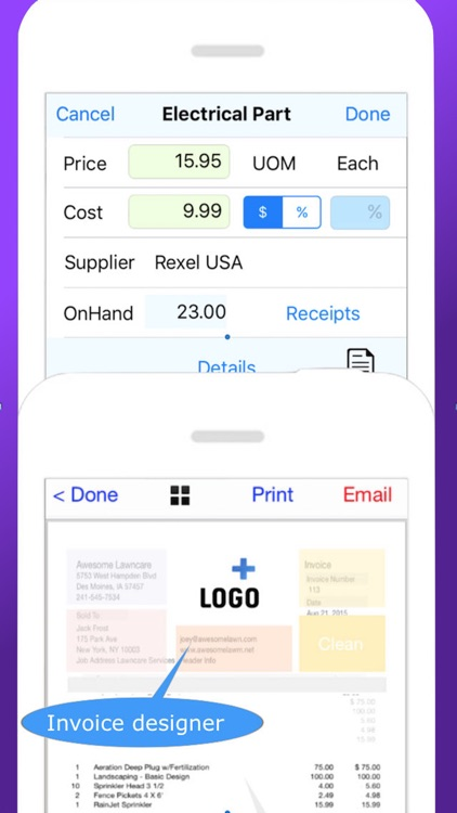 HVAC Pro Estimating, Invoicing and Work Order Tool screenshot-3
