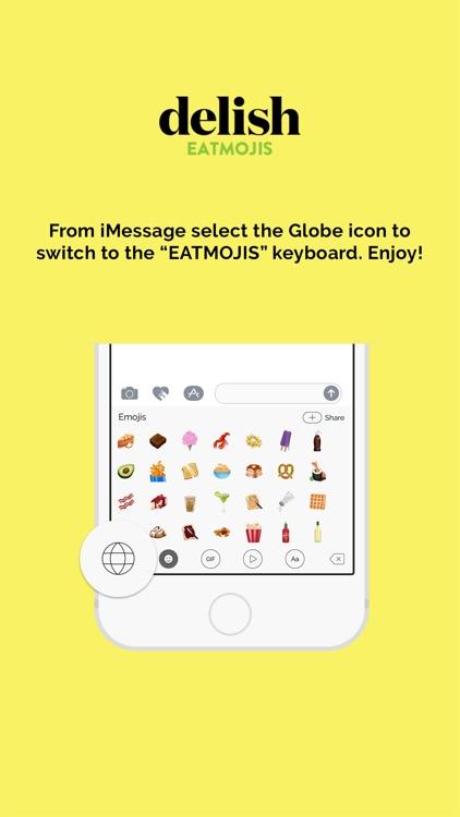 Delish Eatmoji Keyboard